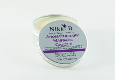 Aromatherapy Massage Candle